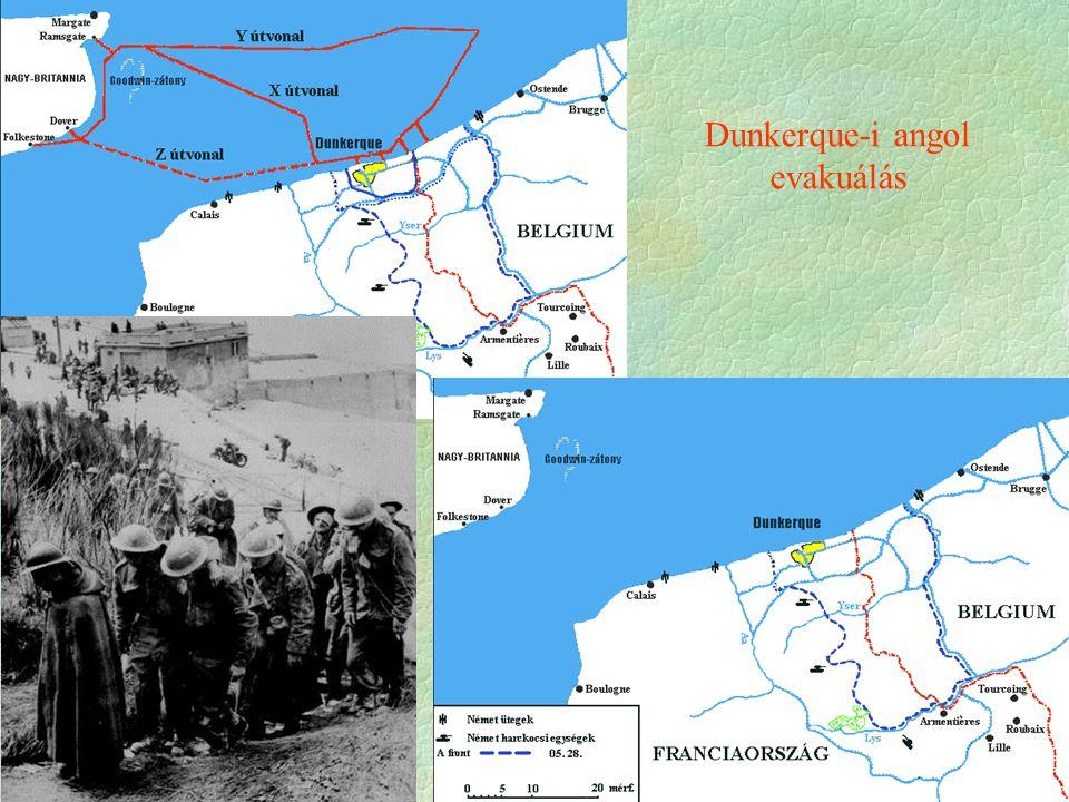 Dunkerque-i angol evakuálás