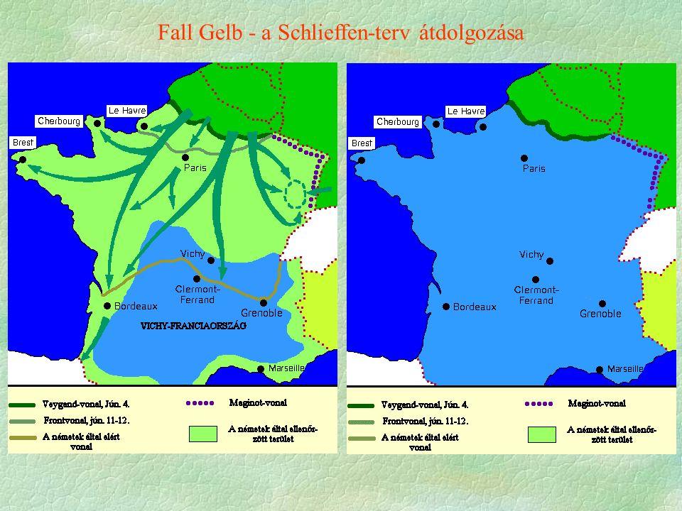 Fall Gelb - a Schlieffen-terv átdolgozása