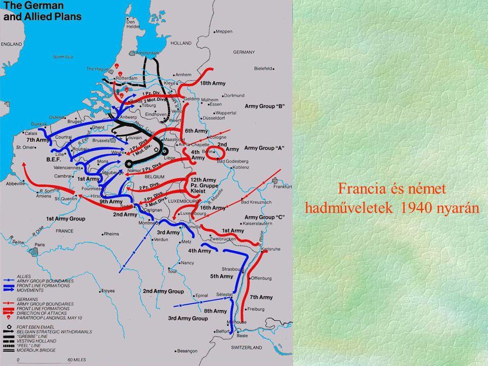 Francia és német hadműveletek 1940 nyarán