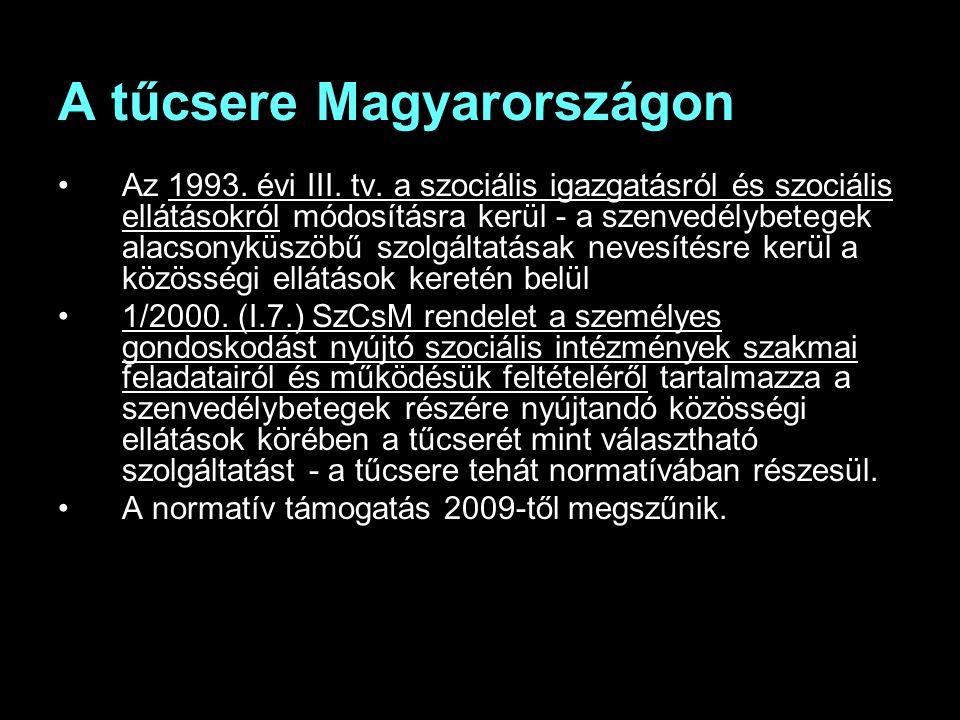 A tűcsere Magyarországon Az 1993. évi III. tv.