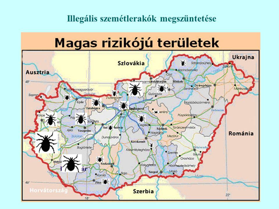37 Illegális szemétlerakók megszüntetése