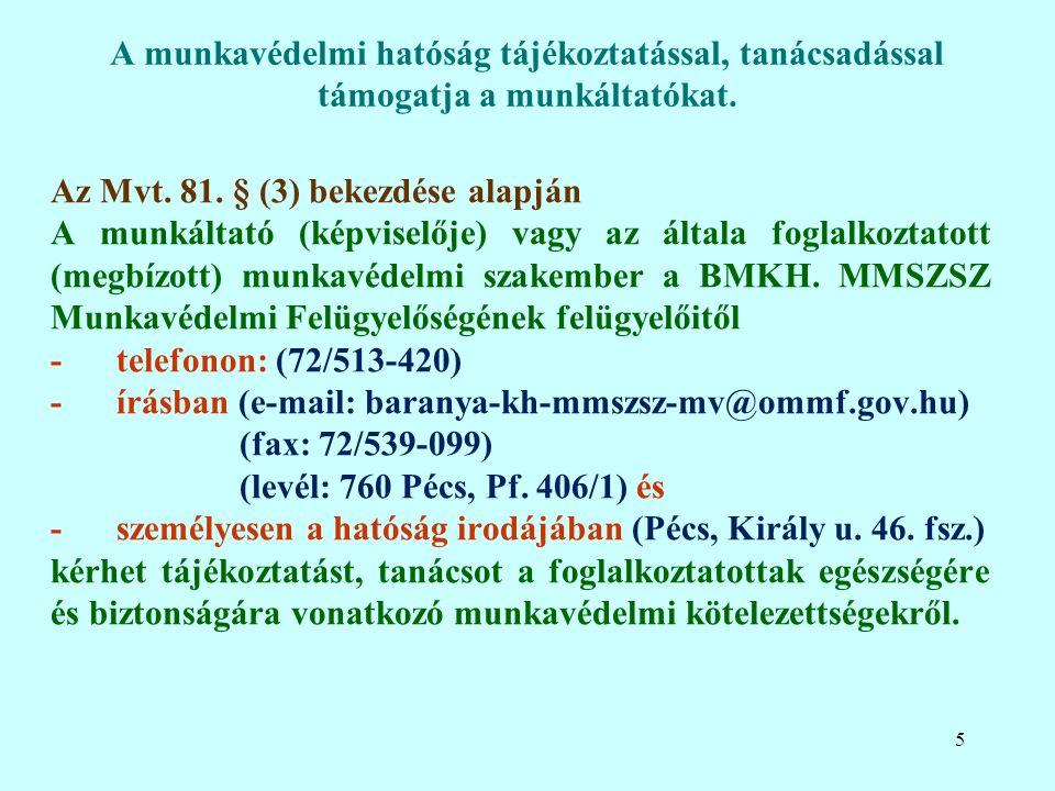 Az Mvt. 81.