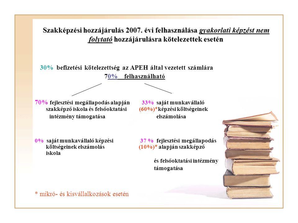 A tanulói, hallgatói kötelező juttatások dokumentálása A tanulói, hallgatói kötelező juttatások dokumentálása Gyakorlati képzésben való részvétel dokumentálása (foglalkoztatási napló Szt.