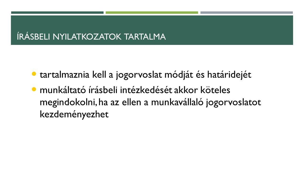 TÍPUSOK ÖSSZEFOGLALVA Egyéni érdekvita – pl.