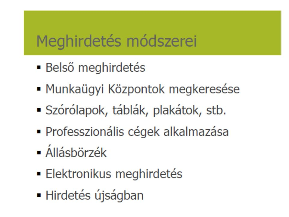Források a szakirodalom mellett: Dr.Gyökér Irén prezentációi Dr.