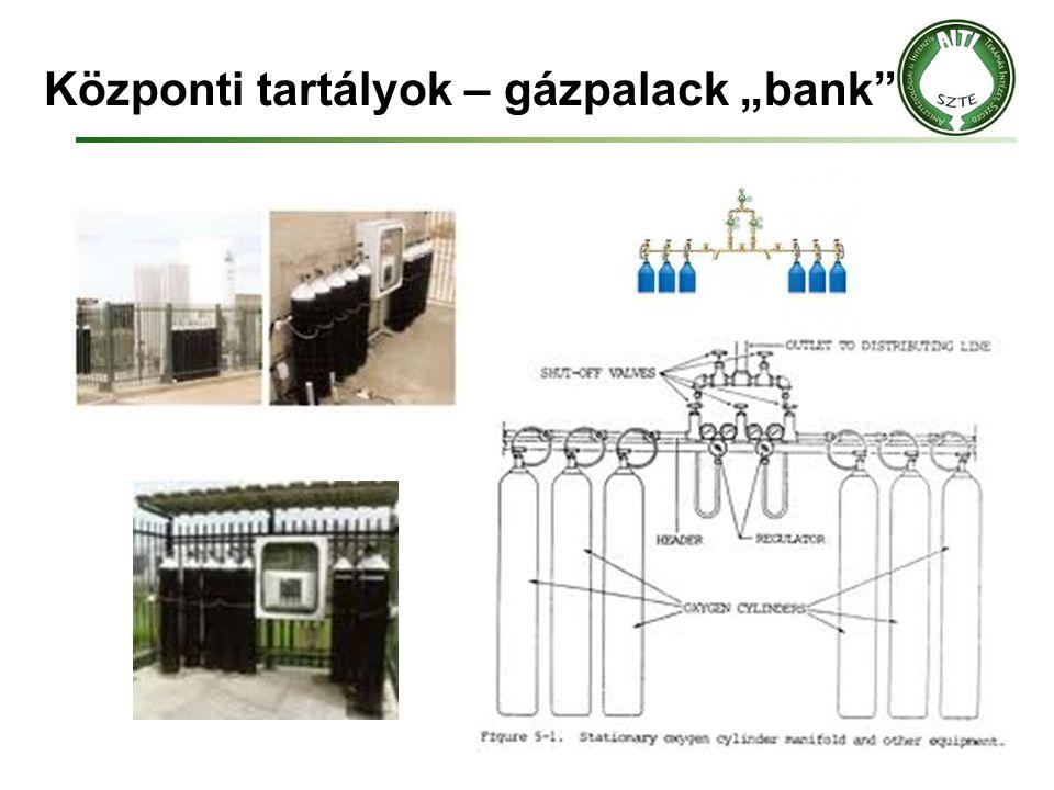 """Központi tartályok – gázpalack """"bank"""""""