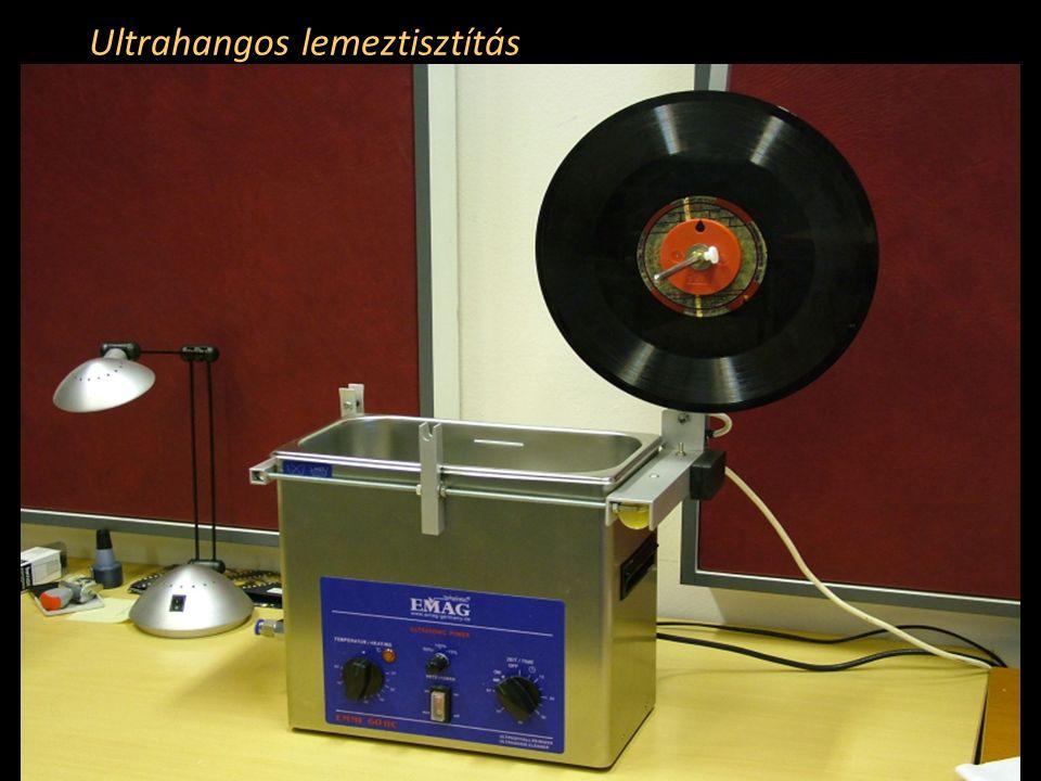 Ultrahangos lemeztisztítás