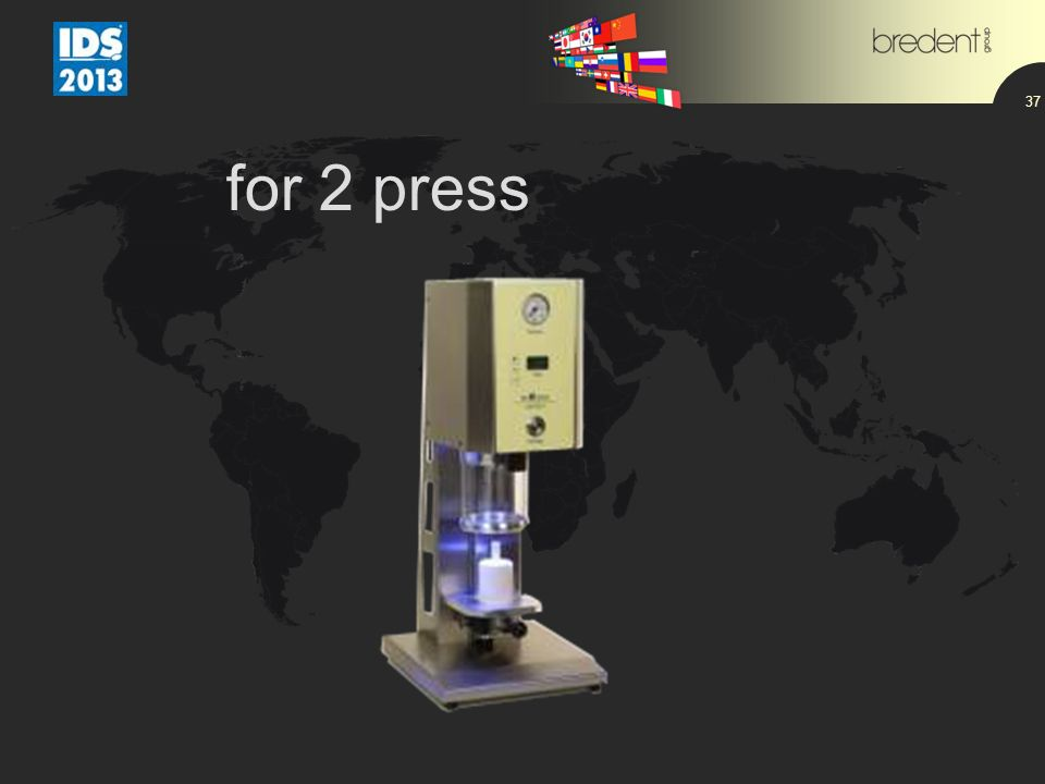 for 2 press 37