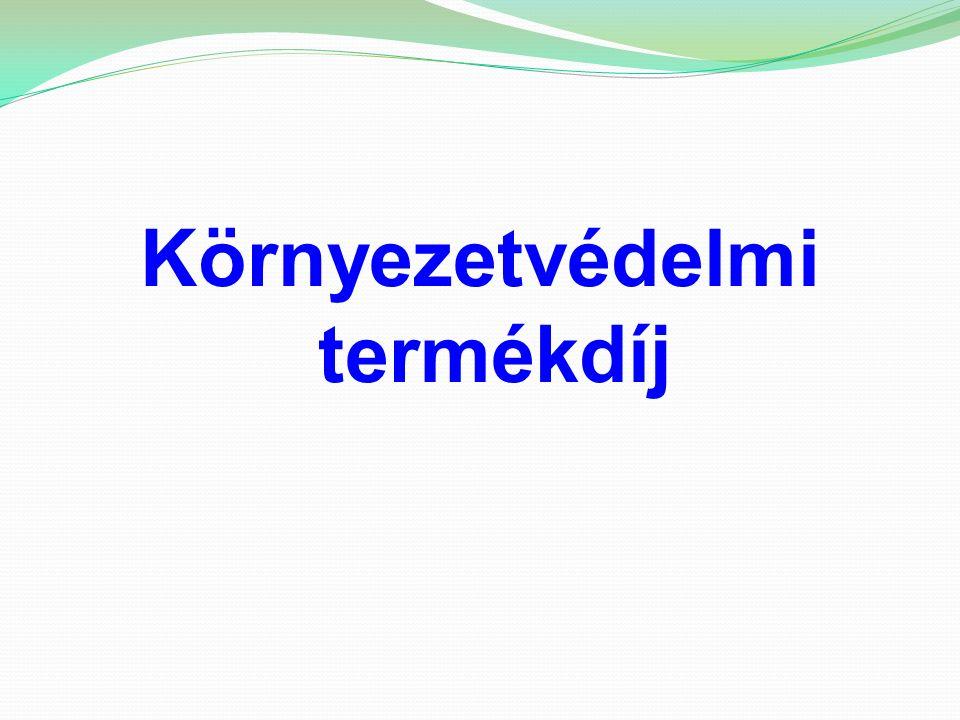 Gazdasági szabályozóeszközök a környezet védelmének általános szabályairól szóló 1995.