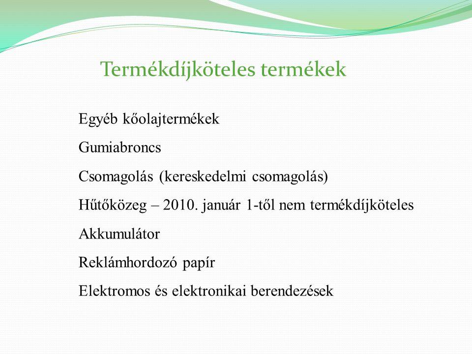 29 A koordináló szervezetek A termékdíj megfizetése a hulladékhasznosítási kötelezettség alól nem mentesít !!.