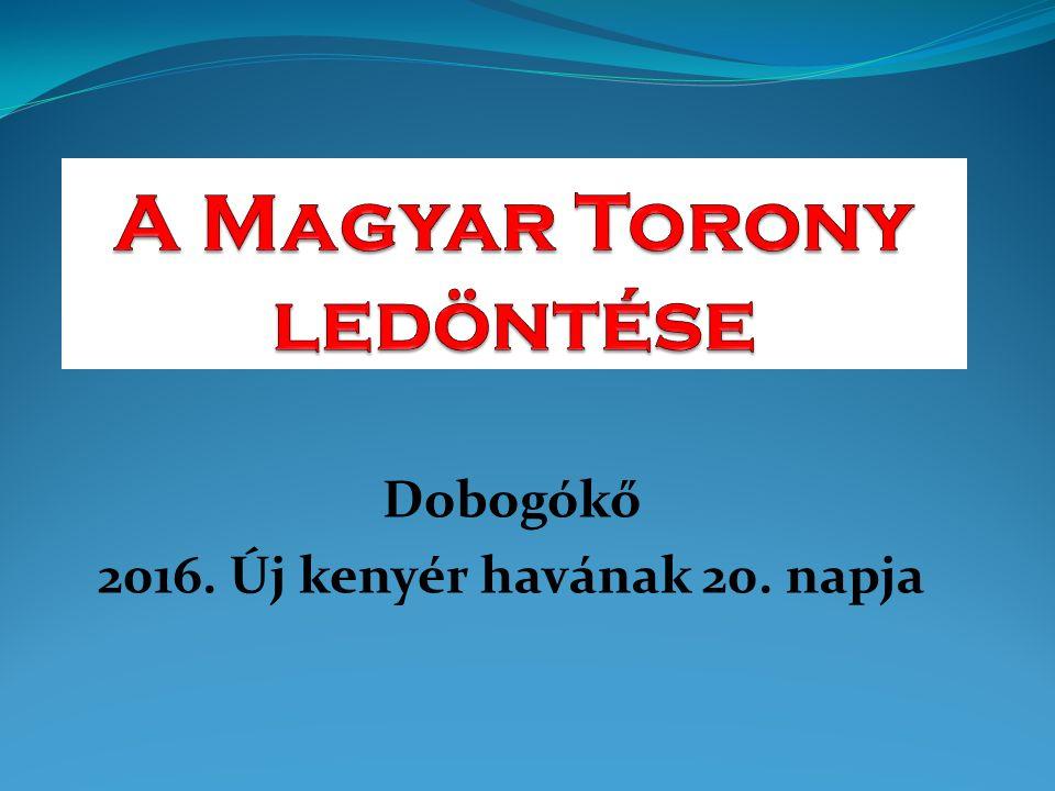 Le kell döntenünk az ezeregyszáz éves lélek- és agymosással épült Magyar Tornyot!
