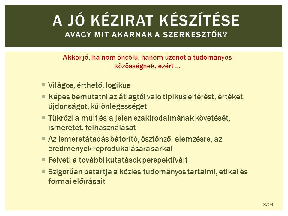 A SZERZŐSÉGRŐL KÉT ELSŐ SZERZŐ 14/24