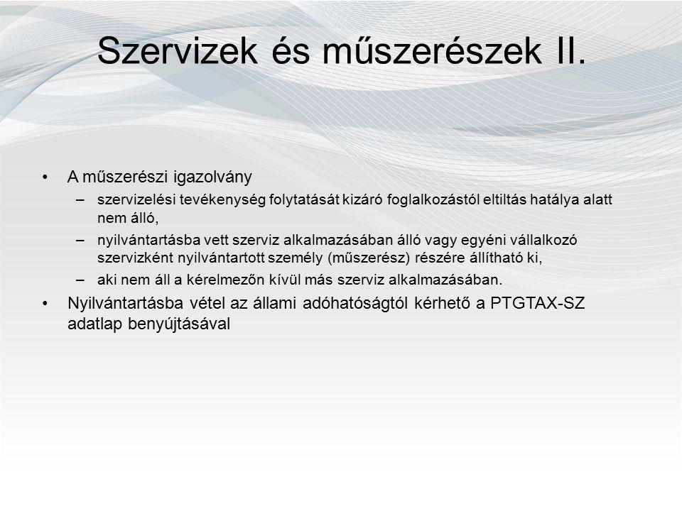 P énztárgépek üzemeltetésével kapcsolatos adatszolgáltatási szabályok Elektronikus naplóval rendelkező hagyományos pénztárgép - üzemeltető adatszolgáltatási kötelezettsége – PTGNAPLÓ+csatolmány Adatszolgáltatás időtartama: –2013.07.01-től új pénztárgép üzembe helyezéséig, legkésőbb 2013.12.31-ig, minden alkalommal elektronikusan Adatszolgáltatás határideje: –tárgyhót követő hónap 10-ig, első alkalommal 08.10-ig Adatszolgáltatás tartalma: –elektronikus naplóállomány és annak adattartalmát összefoglaló szöveges állomány csatolmányként –Minden egyes elektronikus naplóval rendelkező pénztárgépről külön-külön kell elkészíteni a két állományt –Egy PTGNAPLÓ Adatlaphoz több pénztárgép adata csatolható, de max.