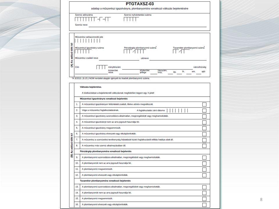 9 Nógrád megyei pénztárgép szervizek és műszerészek adatai (2013.08.06.)