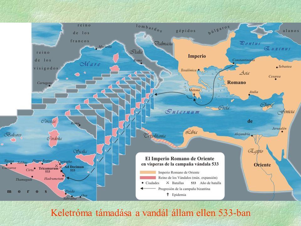 Keletróma támadása a vandál állam ellen 533-ban