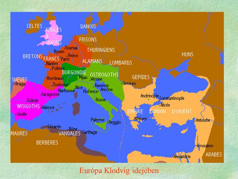 Európa Klodvig idejében
