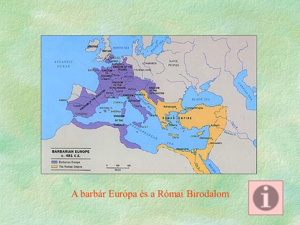 A barbár Európa és a Római Birodalom