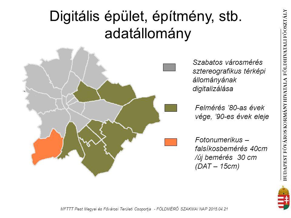 BUDAPEST FŐVÁROS KORMÁNYHIVATALA FÖLDHIVATAL I FŐOSZTÁLY Digitális épület, építmény, stb.
