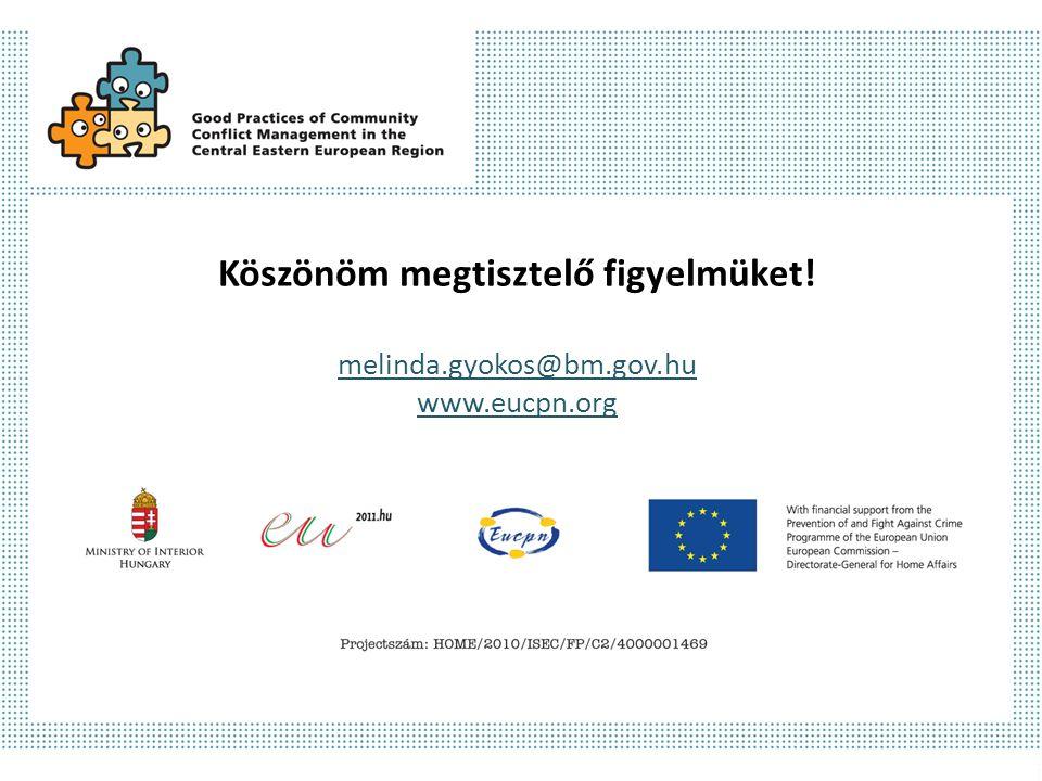 Köszönöm megtisztelő figyelmüket! melinda.gyokos@bm.gov.hu www.eucpn.org