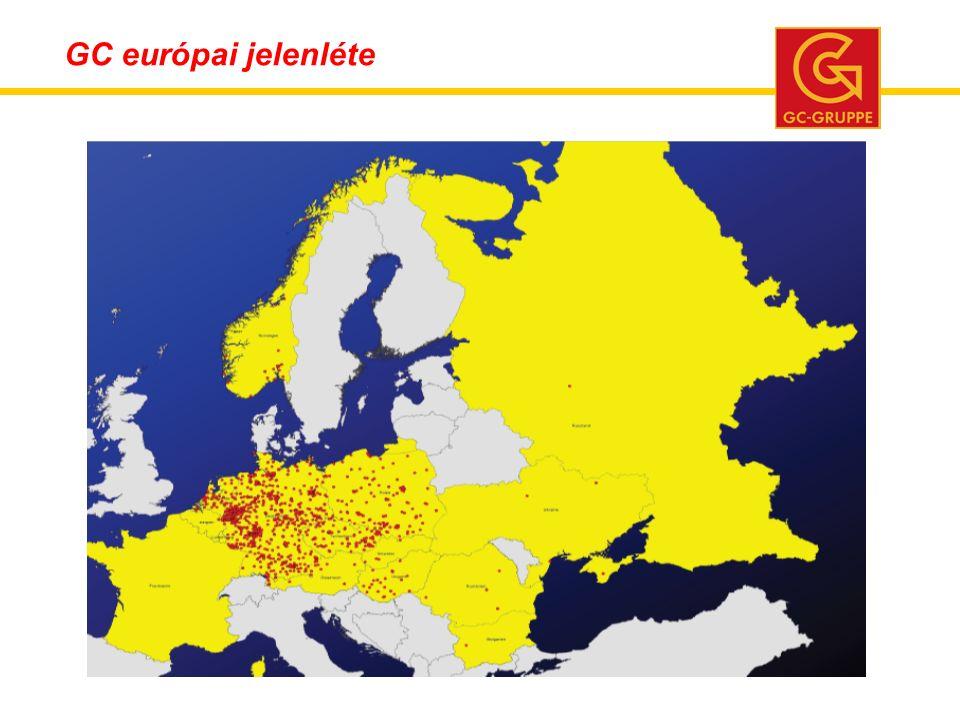 GC európai jelenléte
