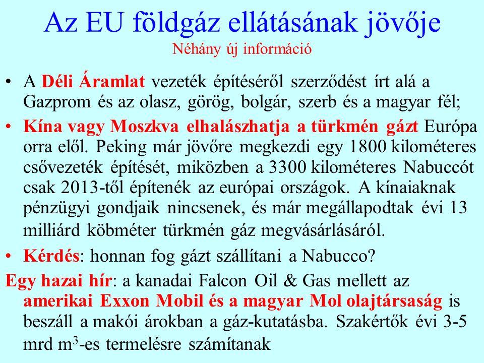 Ki mennyire függ a Gazpromtól Az EU energiapolitika áttételesen ezt a függést erősíti