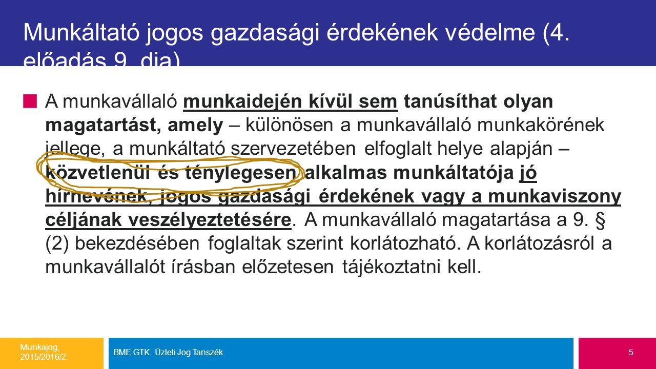 Véleménynyilvánítás szabadságának korlátai (4.ea.