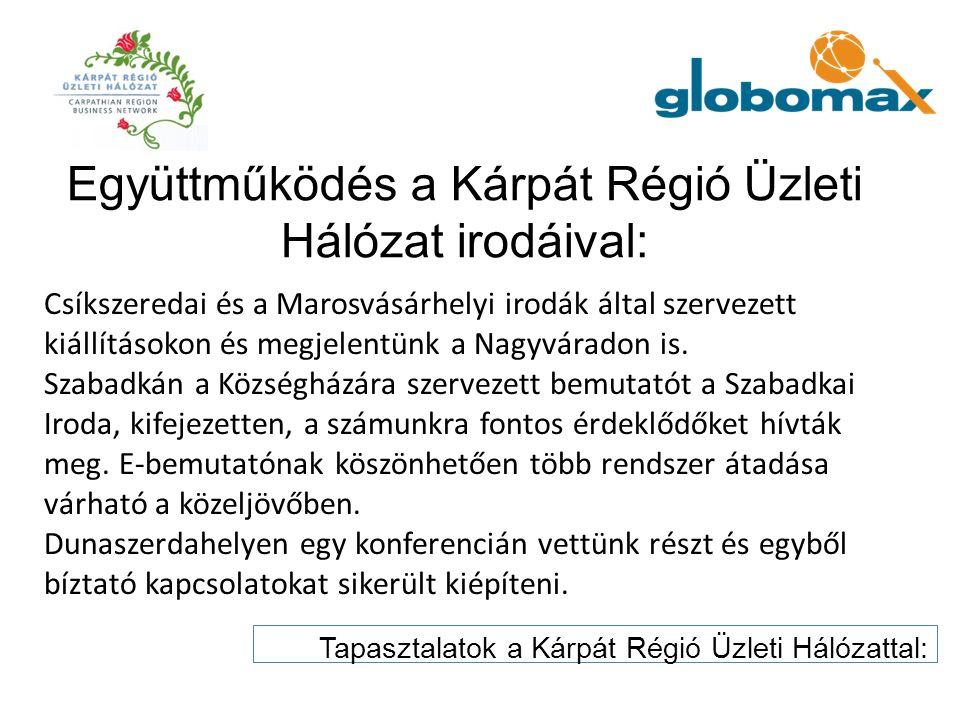 Csíkszeredai és a Marosvásárhelyi irodák által szervezett kiállításokon és megjelentünk a Nagyváradon is. Szabadkán a Községházára szervezett bemutató