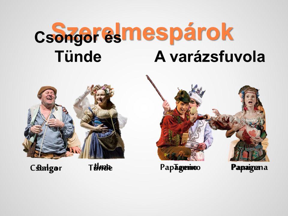 A varázsfuvola A varázsfuvola két felvonásos német opera. Bonyolultabb a korabeli daljátékoknál. valójában egyszerre nagyopera, vígopera és daljáték.