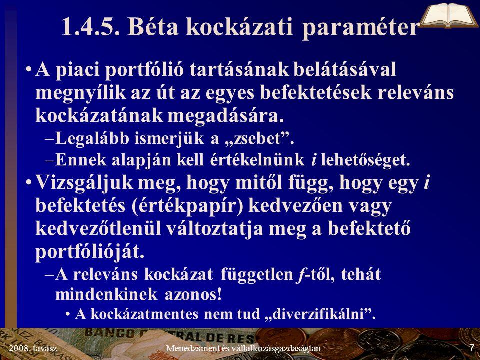 2008.tavasz28Menedzsment és vállalkozásgazdaságtan 1.4.8.3.