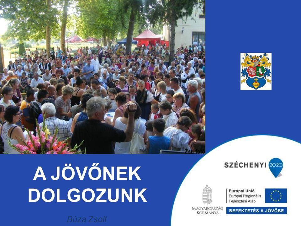 A JÖVŐNEK DOLGOZUNK Búza Zsolt polgármester