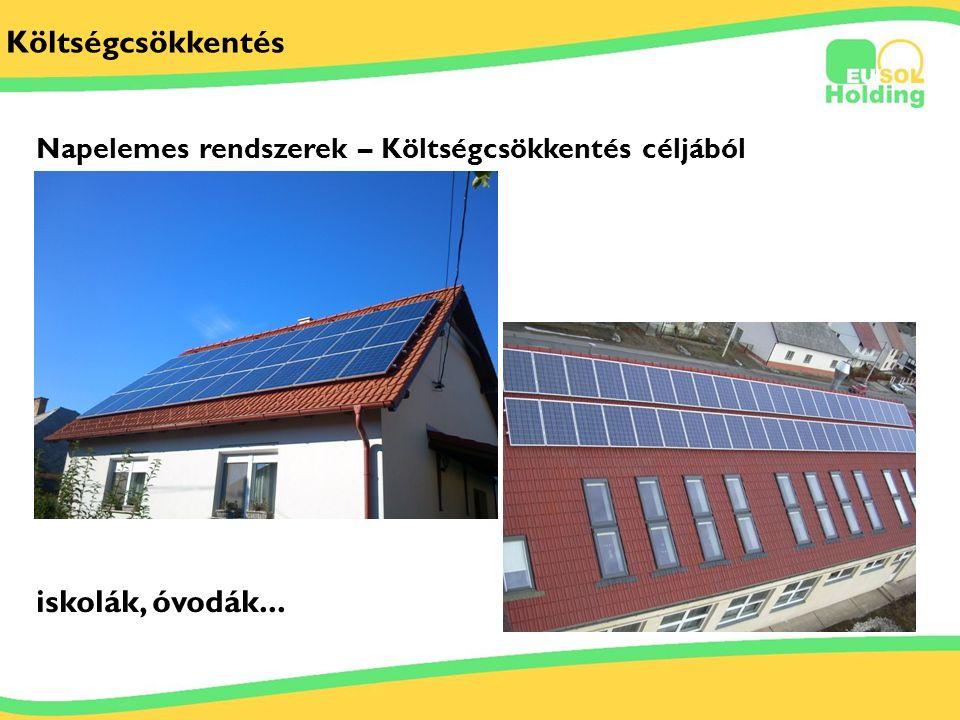 2012.06.29. Tőkés Ernőinfo@bestsolar.hu Költségcsökkentés iskolák, óvodák... Napelemes rendszerek – Költségcsökkentés céljából