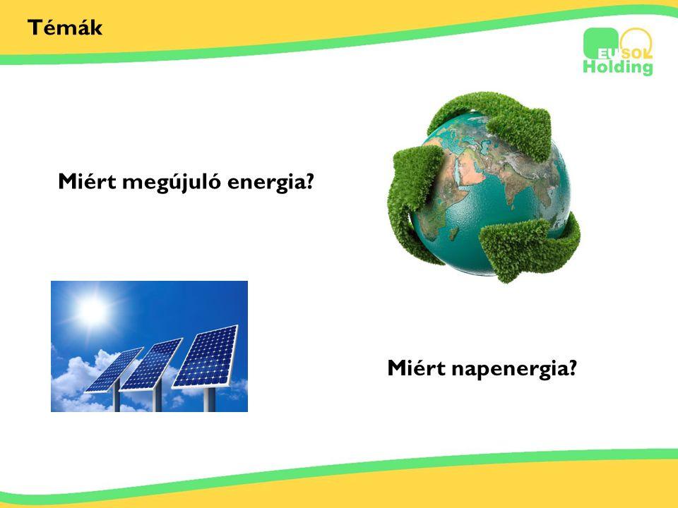 2012.06.29. Tőkés Ernőinfo@bestsolar.hu Témák Miért megújuló energia? Miért napenergia?