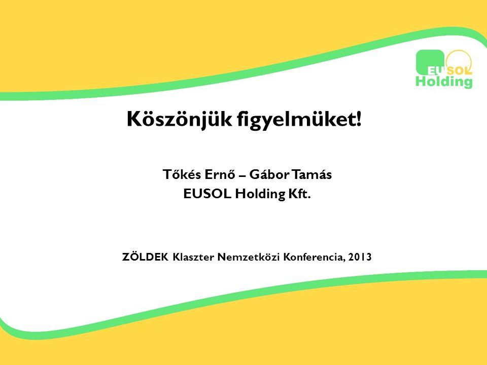 2013.09.12-13. Tőkés Ernőinfo@bestsolar.hu Köszönjük figyelmüket.