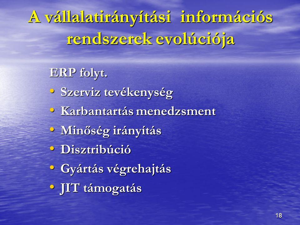 18 ERP folyt.