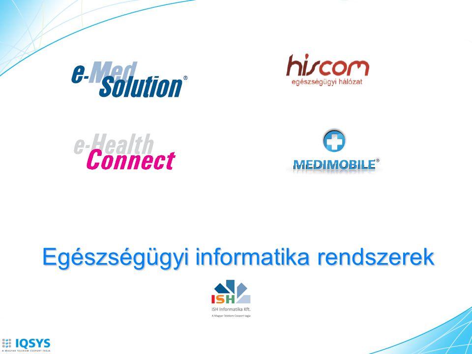 Egészségügyi informatika rendszerek