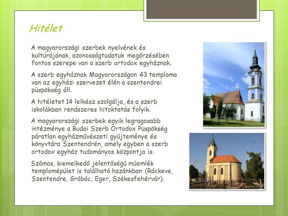 A magyarországi szerbek nyelvének és kultúrájának, azonosságtudatuk megőrzésében fontos szerepe van a szerb ortodox egyháznak.
