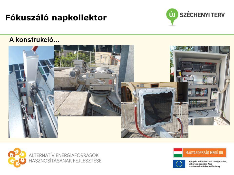 A konstrukció…