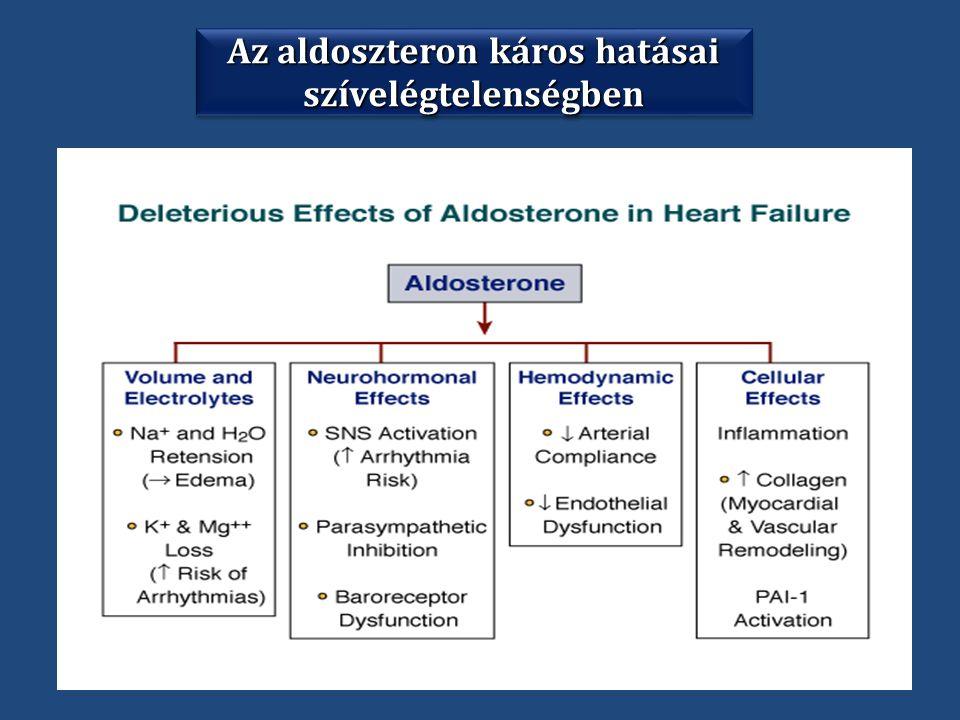 Az aldoszteron káros hatásai szívelégtelenségben szívelégtelenségben
