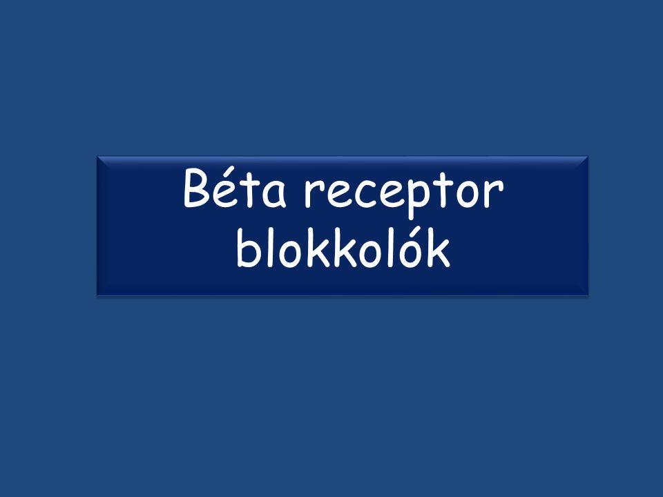 Béta receptor blokkolók