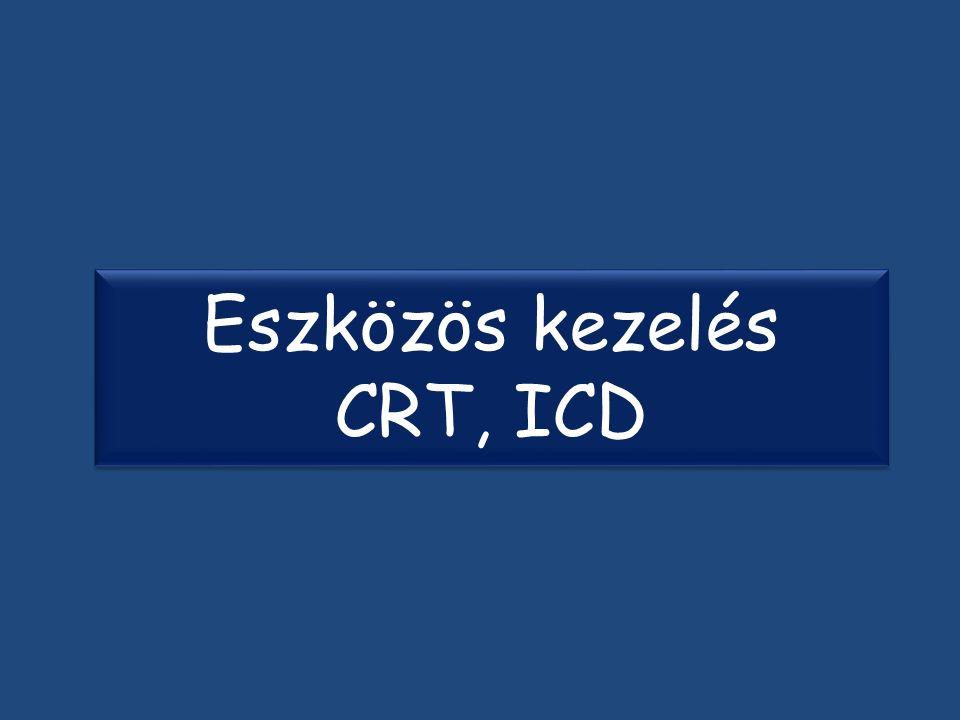 Eszközös kezelés CRT, ICD