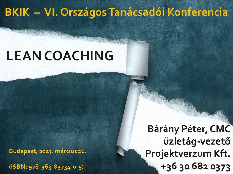 Mi az a lean.És mi az a coaching.