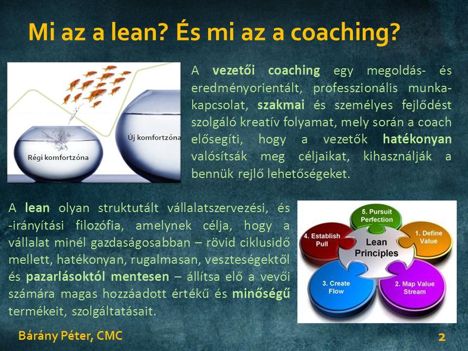 Mi az a lean. És mi az a coaching.