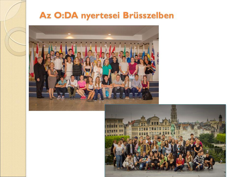 Az O:DA nyertesei Brüsszelben Az O:DA nyertesei Brüsszelben