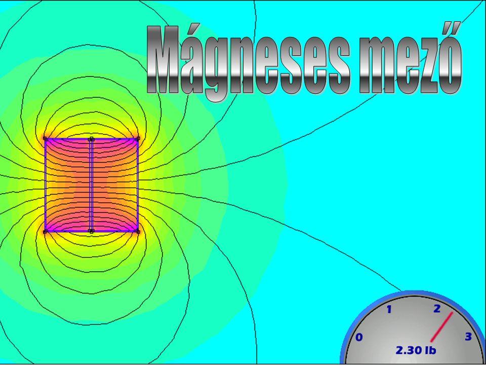 """A magnetométer """"N menetű kis méretű lapos tekercs, amelynek párhuzamos száraiban ellentétes irányú az áram."""