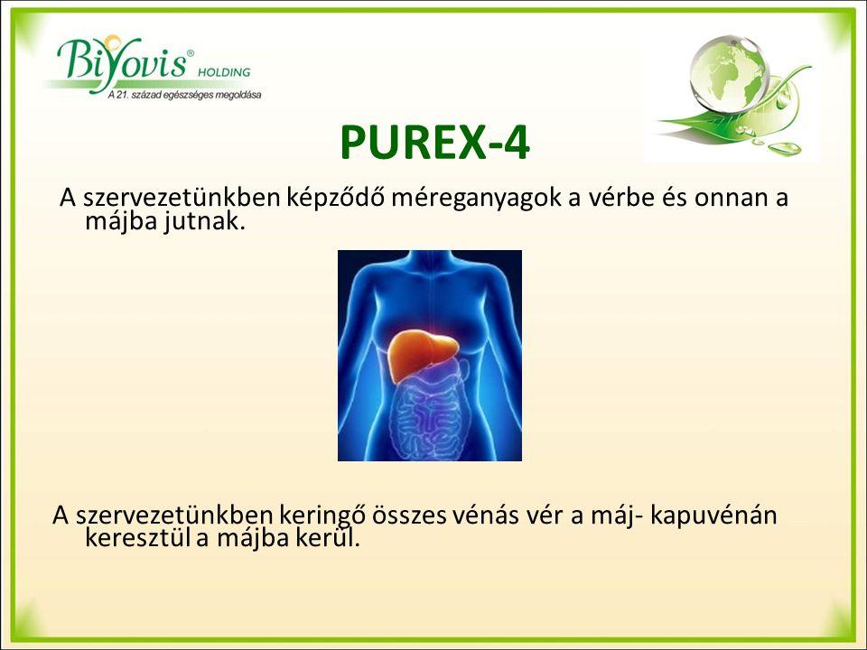 PUREX-4 A máj a szervezet legfontosabb méregtelenítő szerve.