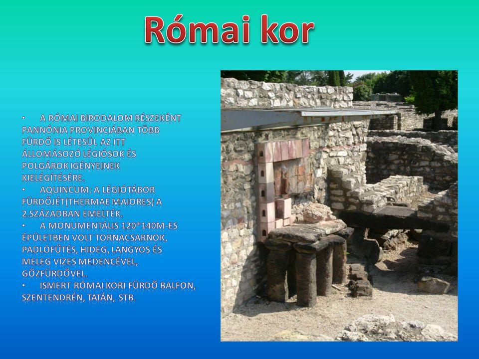 A rómaiak után az első fürdők Budán épültek az Anjouk és Zsigmond uralkodása alatt, de igazi fellendülés csak a török hódítást követően ment végbe.