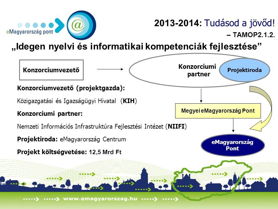 2013-2014: Tudásod a jövőd. – TAMOP2.1.2.