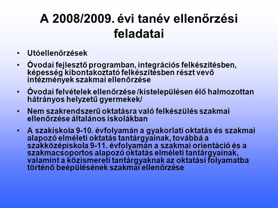 Országos mérés OKM: 2008.május 28.