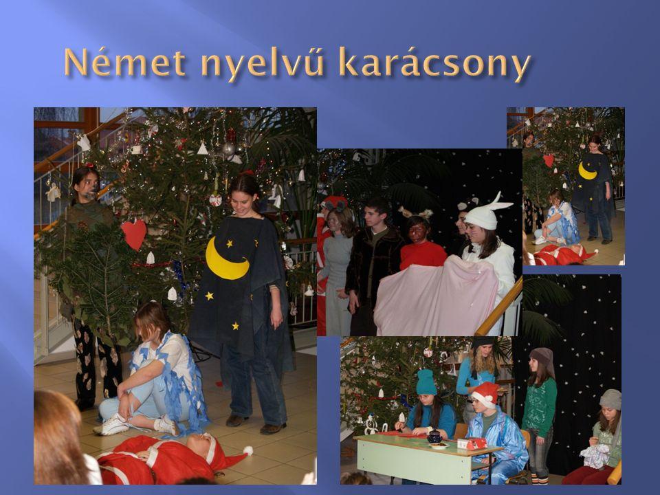 Német nyelv ű karácsony