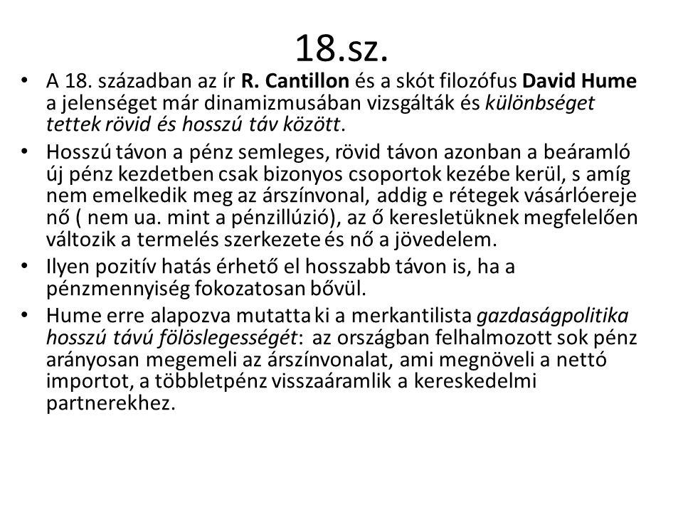 18.sz.A 18. században az ír R.
